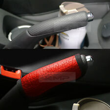 Sports Parking Hand Brake Boot Leather Cover Red Garnish For KIA 2011-17 Picanto