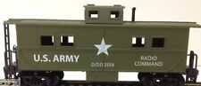 Ho Us Army 36' Steel Type Mantua Caboose #726004 Us Army Caboose Steel