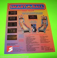 SMART BALL By SMART ORIG NOS BALL TOSS REDEMPTION GAME MACHINE SALES FLYER #1