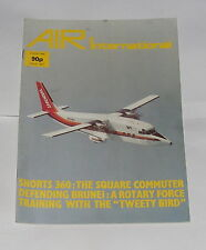 AIR INTERNATIONAL AUGUST 1984 VOLUME 27 NO.2 - SHORTS 360: THE SQUARE COMMUTER