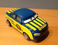CARS - RACE OFFICIAL TOM- Mattel Disney Pixar Loose