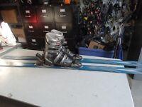 K2 Reflex Ski Package 178cm Size 6 - 7 1/2 women's US Tecnica TS5 Boots Men's 6