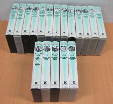 Laurel & Hardy, 18 VHS Kassetten, TaurusVideo Nr. 1315 bis 1332, restaurierte F.
