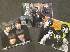 THE BEATLES CALENDARS 2002 2003 LOT OF 3 SEALED