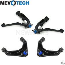 For Chevrolet GMC Front Upper & Lower Control Arms & Ball Joints KIT Mevotech