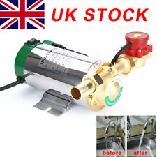 Hot Water Booster Mains Pressure Shower Pump Electric Home Boost 90W domestic