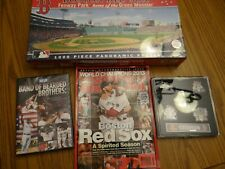 Boston Red Sox Fenway Park MLB Baseball Sports Fan LOT Puzzle Pins DVD magazine