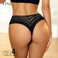 Sexy Thongs Transparent Lace G-Strings Women Panties Female Lingerie Underwear