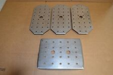 Lot of 4 Vollrath Stainless Steel False Pan Bottoms