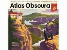 New listing New Atlas Obscura 2020 Calendar Year Wanderlust Full Size Workman Publishing