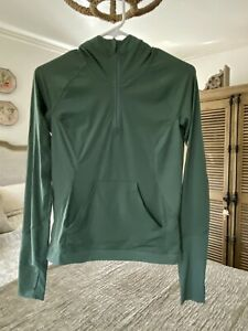 EUC LULULEMON run pullover hoodie Pale Green size 2