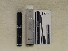 Dior 'Diorshow' Volume Mascara Black .05oz Deluxe Travel Size NIB