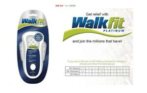 WalkFit Platinum Orthotics ~ Relives Pain ~ Class 1 Medical Device ~  1 Pair