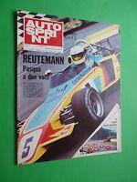 Autosprint 1972/14 Jochen Neerpasch Ford Carlos Reutemann Gp Brazil F1