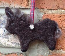 Handmade Donkey Decoration, Needle Felted Donkey, Needle Felt Gift, Donkey Gift