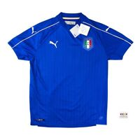 NWT Italy 2016/17 International Home Soccer Jersey Medium Puma
