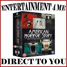 AMERICAN HORROR STORY - COMPLETE SERIES - SEASONS 1 2 3 4 & 5 *BRAND NEW DVD **
