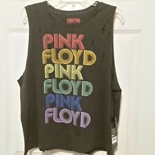 bc0b5166fe53ca Lucky BRAND Womens Pink Floyd Distressed Band Tank Top T-shirt Black Size S