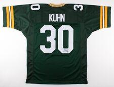 John Kuhn Signed Packers Jersey (JSA COA)  2× Super Bowl champion (XL, XLV)