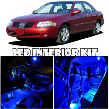 For 00-06 Nissan Sentra Sunny Interior LED Xenon Light Bulb HID Full Kit (BLUE)
