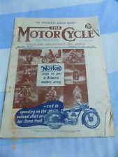 Motor Cycle/2,11,1939/Freddy Clarke Story/ARIEL Fours & Singles