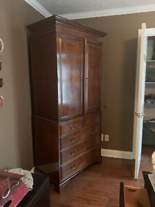 armoire furniture beautiful basically new with no scratches
