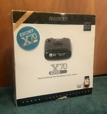 Escort Passport X70 Radar/Laser Detector NEW - FACTORY SEAL