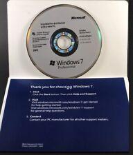 MS Windows 7 Professional 64 Bit (DVD Disc & Key Code)- Brand New Sealed