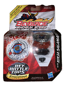 Beyblade Shogun Steel Bey Battle Tops Ninja Salamander Balance Hasbro 2012 New