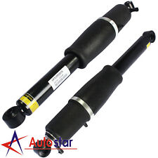 Pair Rear Air Suspension Strut Shocks For 2000-2013 Chevy GMC Cadillac Escalade