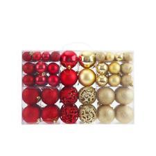 100Pcs 6cm Christmas Tree Xmas Balls Decorations Baubles Party Wedding Ornament
