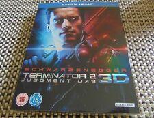 Terminator 2 Blu Ray 3d Blu-ray 2017 Arnold Schwarzenegger Linda Hamilton