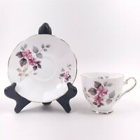 Elizabethan Fine Bone China Tea Cup & Saucer Pink Flower