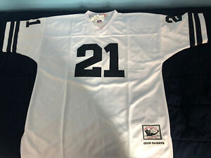 DALLAS COWBOYS #21 DEION SANDERS SEWN ON JERSEY MITCHELL & NESS NFL SIZE 58 NWT