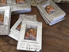24 Pc  Prayer Books For Baptism Favors/ Recuerdos  De Bautizo En Repujado/