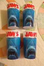 Jaws - Jaws Movie Poster Image 22 oz. Plastic Cups Party Favor, Cups Set of 4