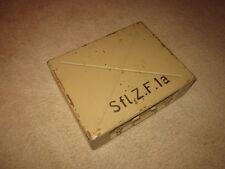 WW2 German Wehrmacht Sfl.Z.F. 1a/1 Gun Scope BOX - StuG Hetzer Brummbär - NICE!