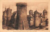 ROUEN - tour ou Jeanne d'Arc fut enfermée et  château bâti par Philippe Auguste