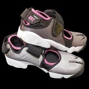 Nike Air Rift Split Toe Metallic Silver, Pink, Black Shoes 2008 Womens Size 11