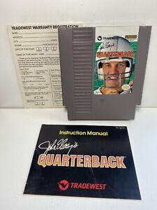 John Elway's Quarterback  NES Nintendo Original Game INSTRUCTIONS MANUAL BOOKLET