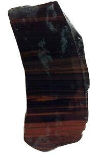 Mahogany Obsidian Slab 78gm Lapidary Gem Rough
