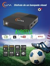 2018 LUNA TV BOX SPANISH Español 4K SAME AS HTV5 A2 LIVE TV ADULT18+ FREE GIFT!!