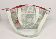 KIPLING Womens Cross Body Floral Pink Beige Shoulder Bag Medium New