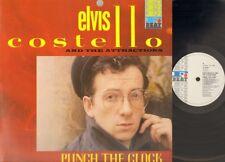 ELVIS COSTELLO Punch the Clock LP 1983 SHIPBUILDING