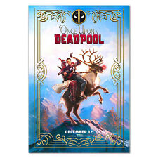 Once upon a Deadpool Movie Poster - Official Print - High Quality