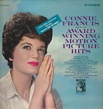 "Connie Francis ""Sings Award Winning Motion Picture Hits"" 1962 MGM Stereo SE 4048"