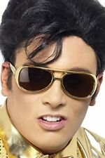 Smiffys - Lunettes Elvis licence DOREES