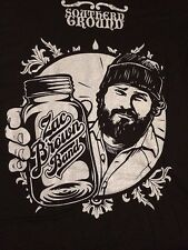 "Brand New Zac Brown Band ""Southern Ground"" T- Shirts, Mens LG & SM"