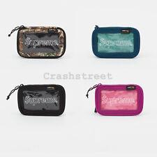 Supreme FW19 Small Zip Pouch Bag box camp cap tee logo backpack waist duffle
