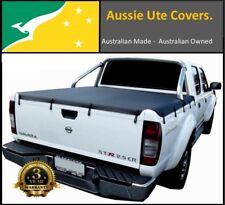 Nissan Navara Dual Cab STR D22T With Factory Sport Bar Ute Tonneau Cover 09 - 15